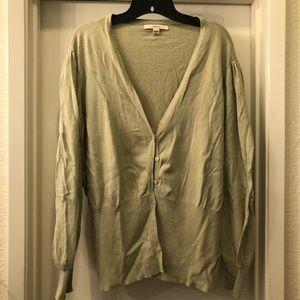 Sage Green cardigan 28w 30w